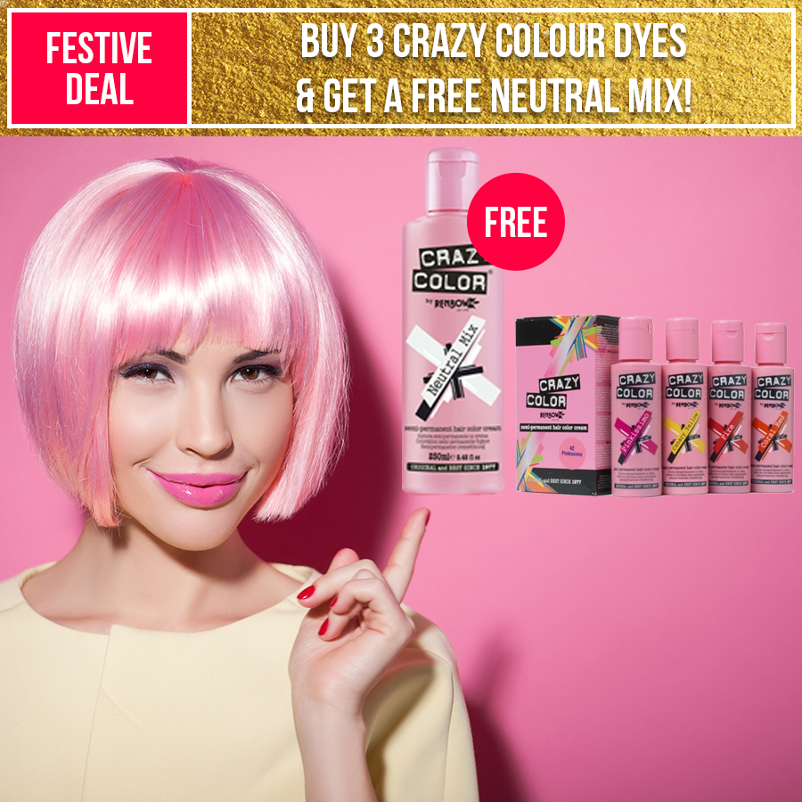 Add Colour To Your Festive Season Buy Any 3 Crazy Colour Semi