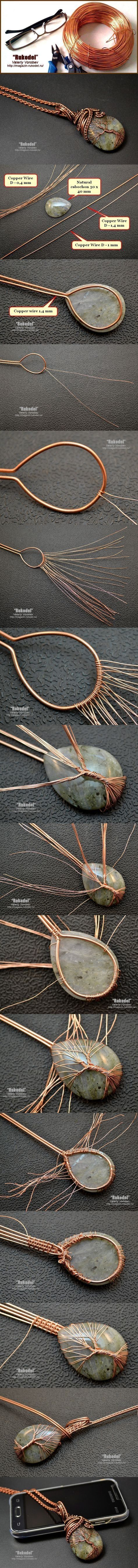 Simple Wire Wrap Tree Tutorial by claire_welhoelter   New hobbies ...