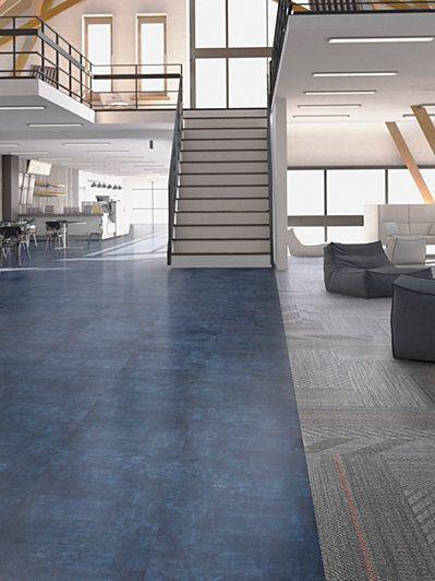 Shikumen c0005 glue down lvt commercial flooring mohawk for Mohawk flooring headquarters