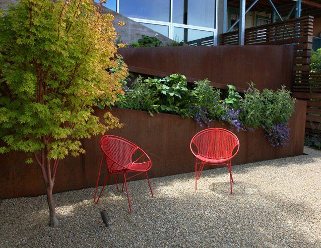 Surfacedesign Inc 21st Street Residence Contemporary Garden