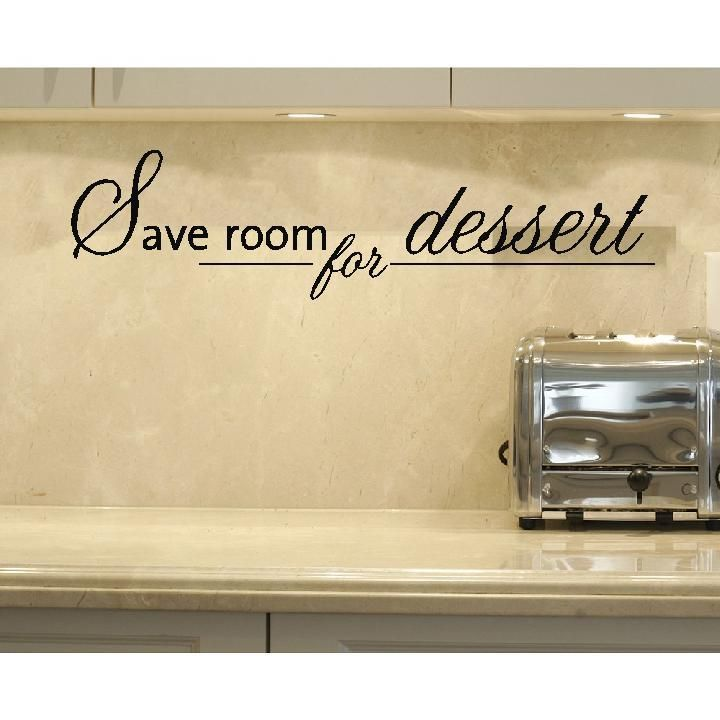 GIANT Custom Vinyl Wall Art Words Quote Kitchen | Kitchen quotes ...