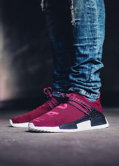 SneakersCartel.com Pharrell x Adidas NMD 'Human Race' - Burgundy - 2016 (by  fil__p) #sneakers #shoes #kicks #jordan #lebron #nba #nike #adidas #ree…