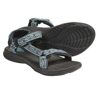 df8bb59d1 Teva Pretty Rugged Nylon 3 Sport Sandals (For Women) in Silky Arctic