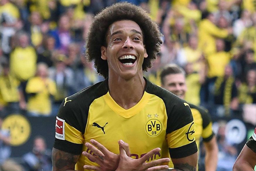 Axel Witsel Scores On Bundesliga Debut As Dortmund Roar Back | Dortmund,  Bicycle Kick, Axel Witsel
