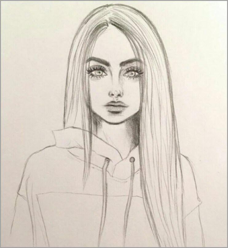 Kartinki Dlya Srisovki Devushki V Stile Art 34 Foto Risunki