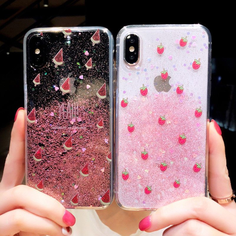 wholesale dealer b3824 fdad8 Cute Cartoon Hello Kitty Bling Glitter Soft Case Cover for iPhone 6 ...