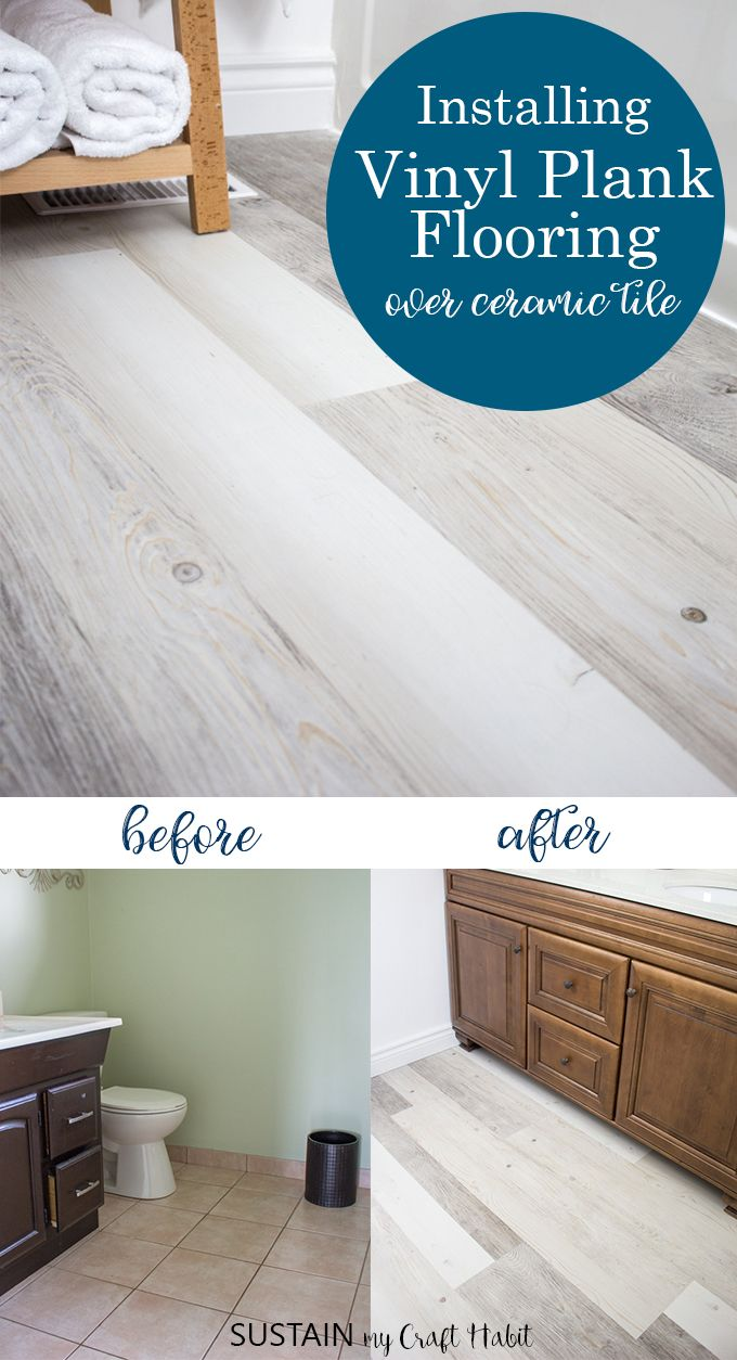 Installating LifeProof Luxury Vinyl Plank Flooring Vinyl