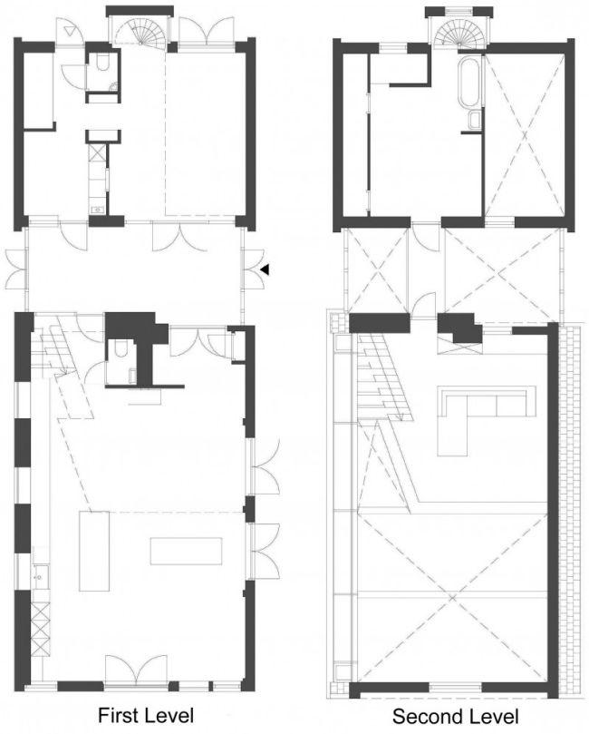 G Haus Niederlande Innen Raumaufteilung Renoviertes Haus