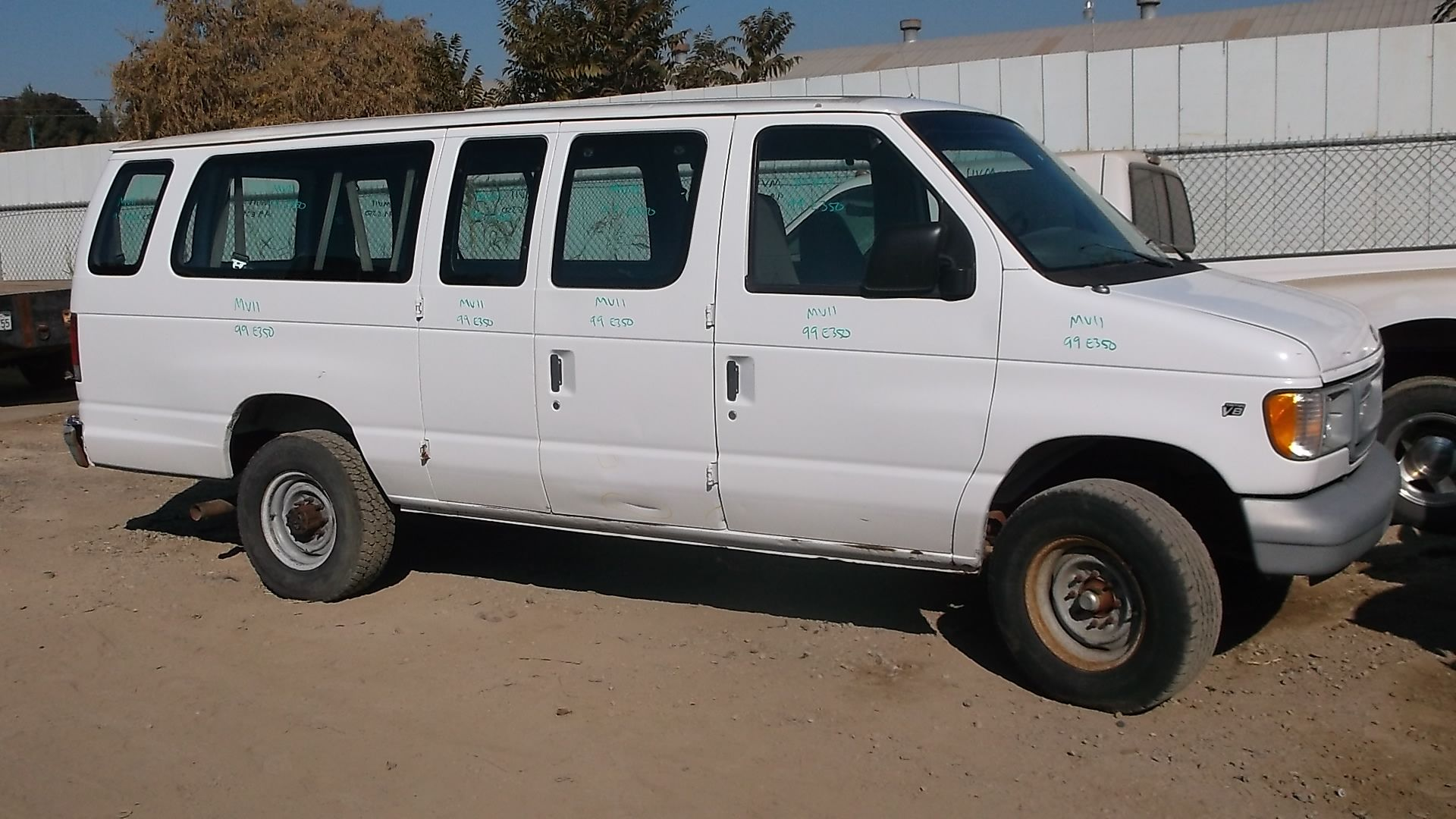 1999 Ford Econoline E 350 Extended 5 4l 155k Miles Ford Cold