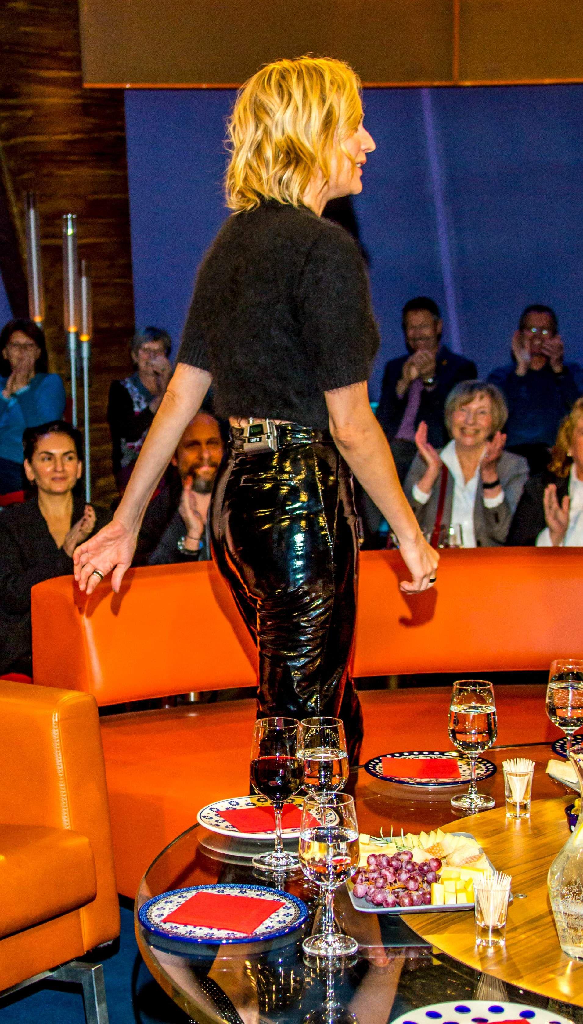 Diane Kruger Attends The Ndr Talkshow
