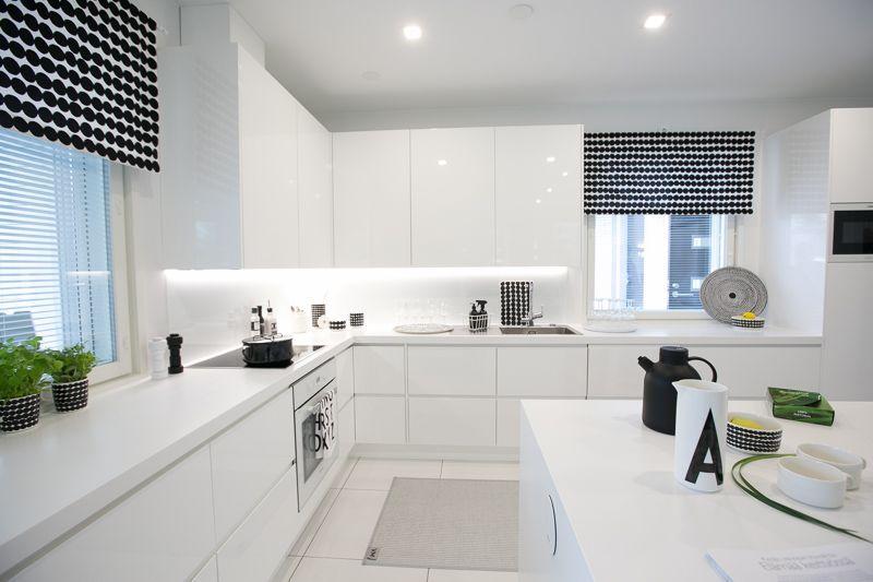 Gorgeous 40 Gorgeous and Luxury White Kitchen Design Ideas
