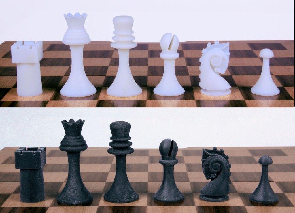 Duchamp Chess Set Reproduction