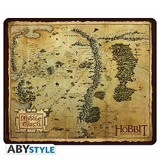 The Hobbit Mousepad Map Middle Earth Gildia Pl Ksiegarnia Internetowa Komiksy Filmy Ksiazki Muzyka The Hobbit Middle Earth Vintage World Maps