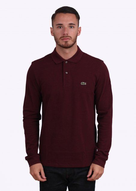 1173a4b924 Lacoste LS Best Polo - Biberry - Lacoste from Triads UK | clobber