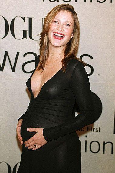 Pregnant Carolyn Murphy