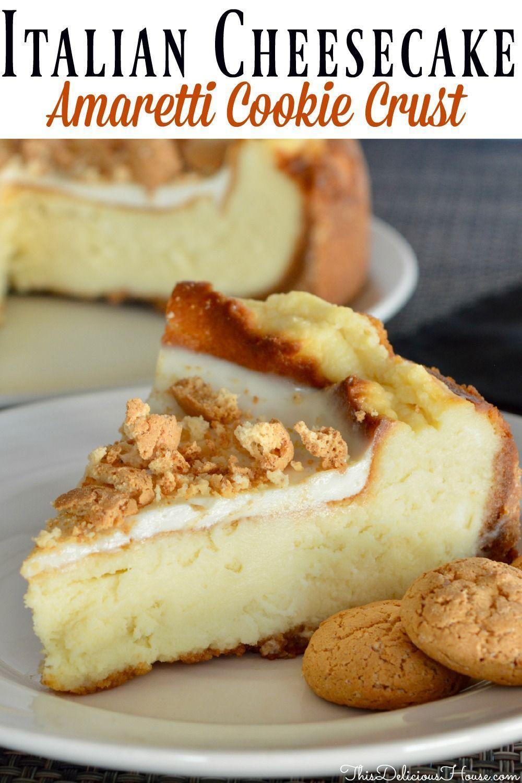 Amaretto Mascarpone Cheesecake Mascarpone Recipes Dessert Recipes Easy Baking Recipes