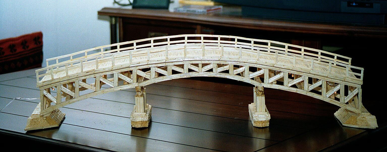 Tips For Building Toothpick Bridges Toothpick Bridge Pinterest
