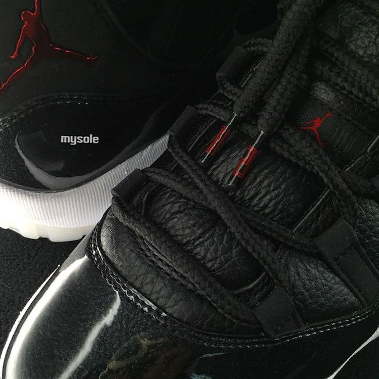 Comment Lacer Air Jordan 11 72-10