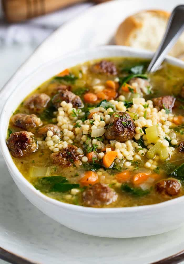Italian Wedding Soup - The Cozy Cook