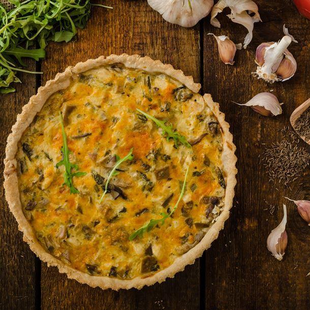 Quiche au poulet et au curry recette curry quiches - Recette de cuisine quiche au poulet ...