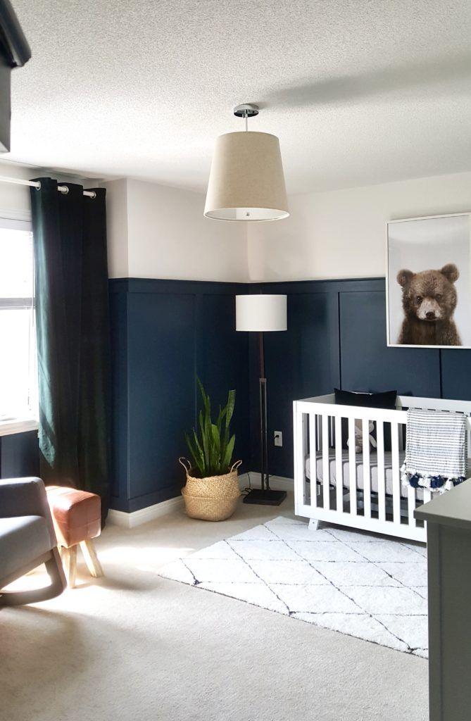 Modern Bear Woodland Nursery
