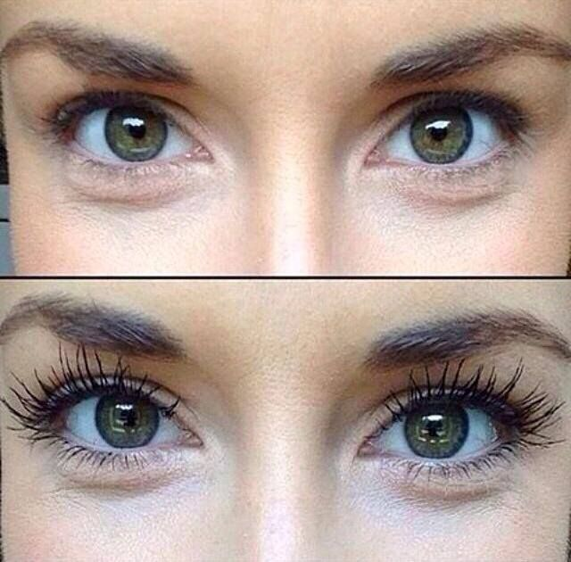 b7a0b519497 3D Fiber Lashes before and after. The look of lash extensions for a  fraction of the cost!