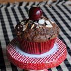 Double Chocolate Cherry Muffins Recipe