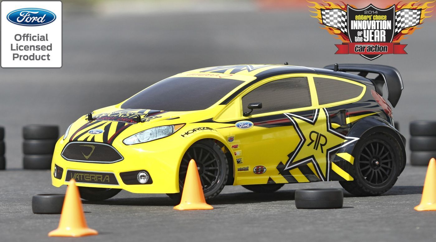 Image For 1 10 Ford Fiesta Rockstar Rallycross 4wd Car Rtr With