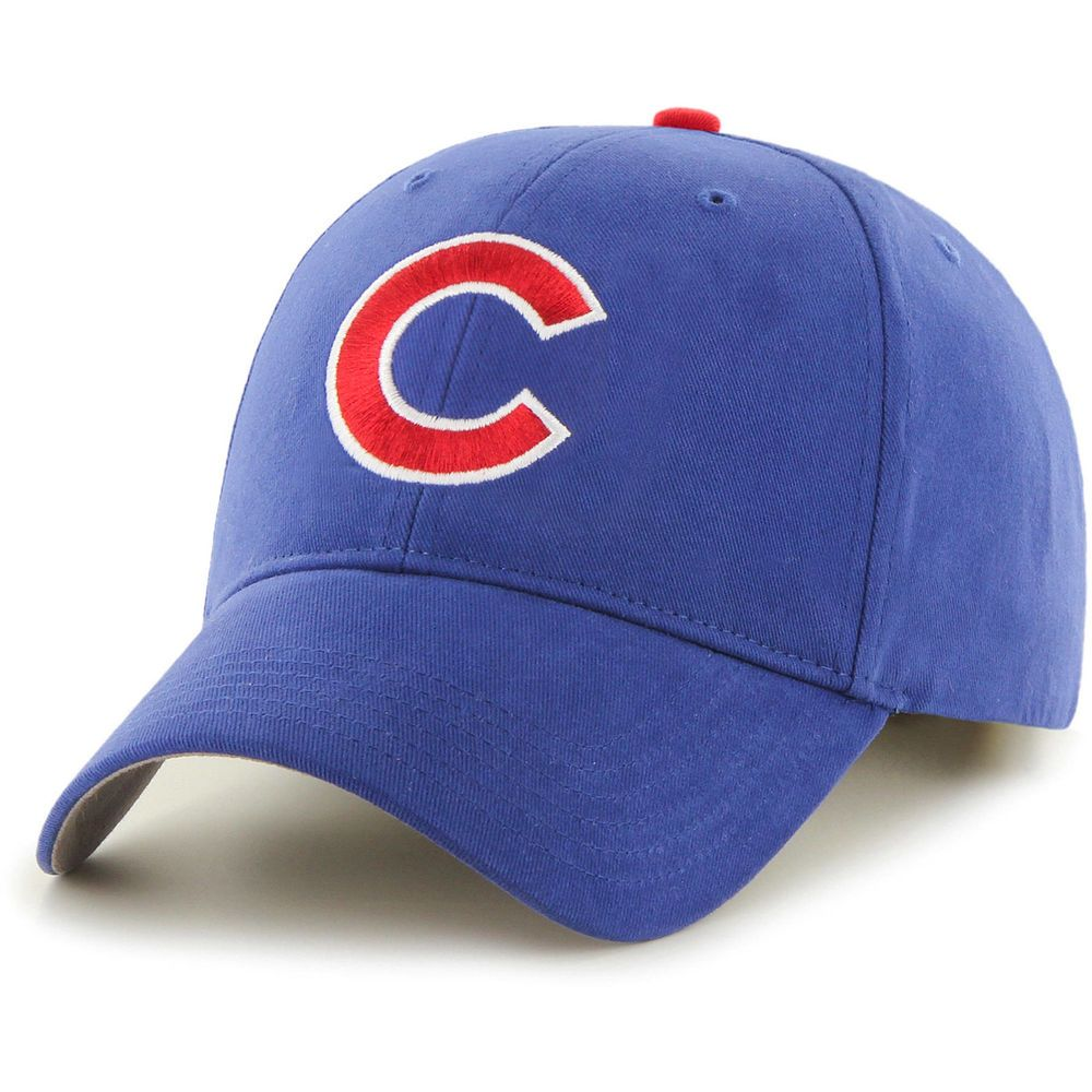 49bc066d06b Chicago Cubs 47 Brand MLB Licensed Adjustable Fit Strapback Blue Baseball  Cap  47  ChicagoCubs