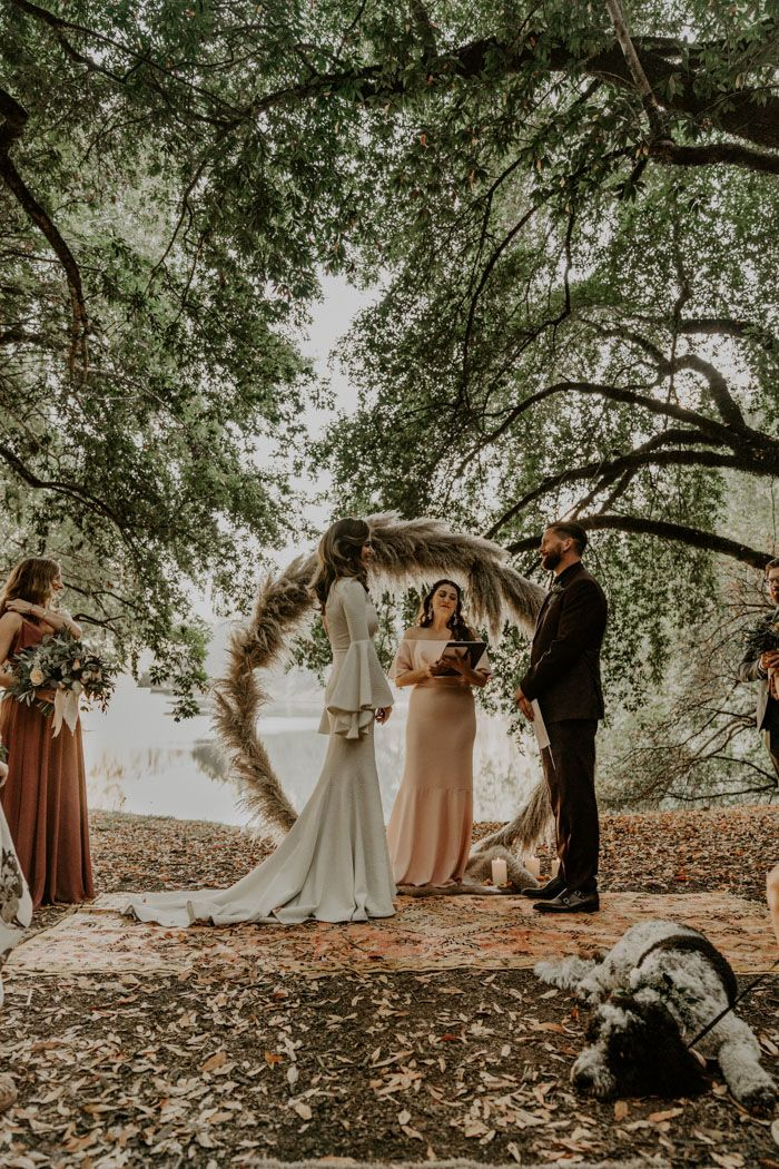 The Theme for This Leonard Lake Reserve Wedding was Summer