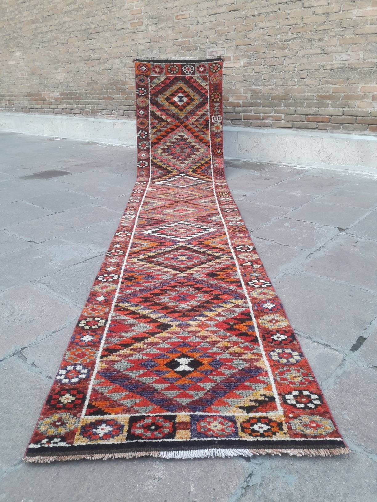 Excited To Share The Latest Addition To My Shop 3 X 13 Oushak Rug Runner 2 39 6 Quot X 13 39 3 Quot Ft Vintage O In 2020 Vintage Oushak Rug Rug Runner Oushak Rug