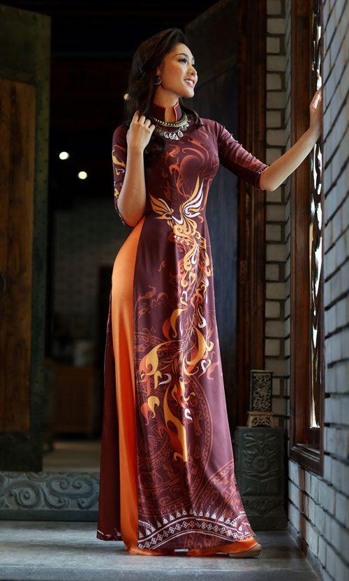Thái Tuấn ra mắt bộ sưu tập áo dài mới - Thai Tuan ra mat ...