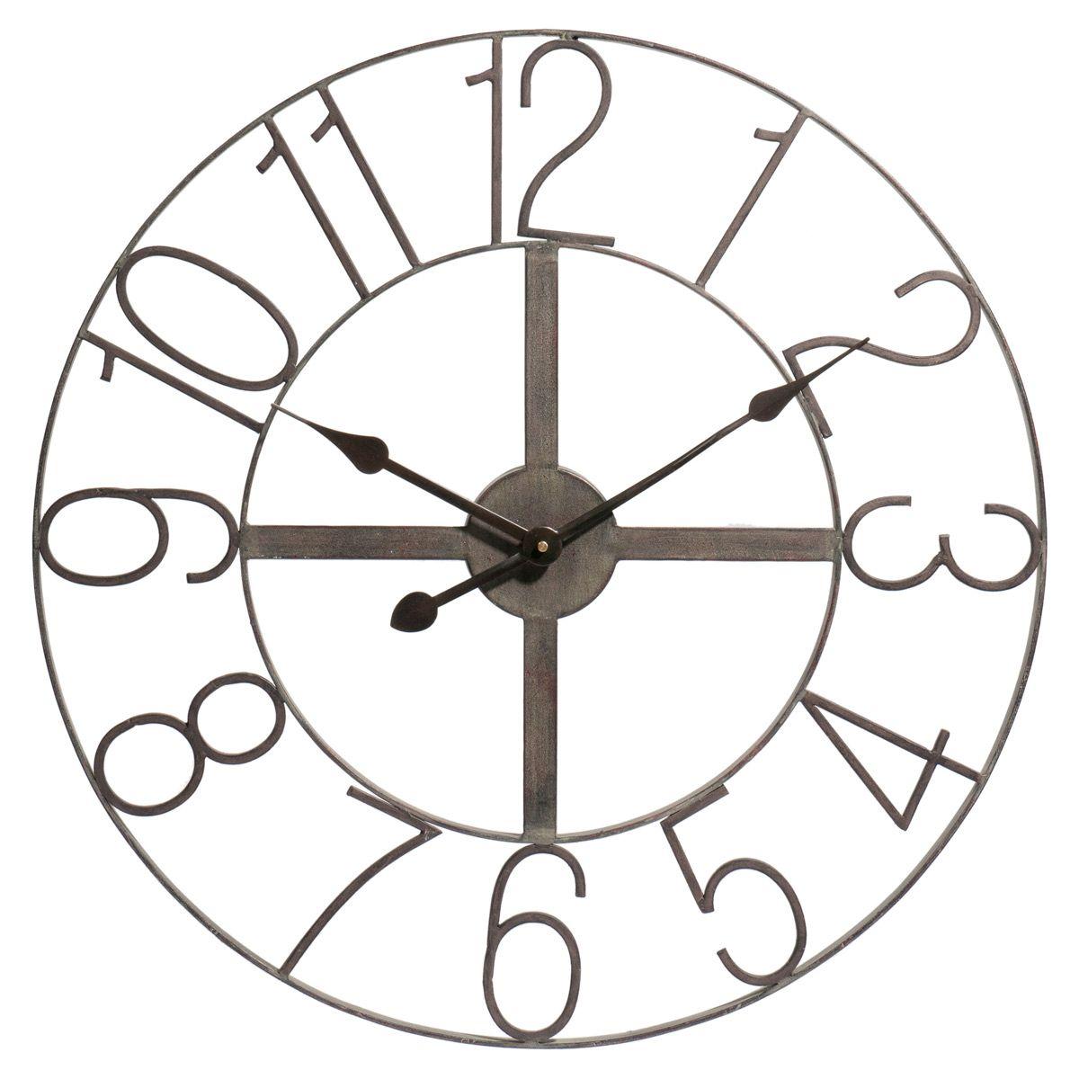 Horloge chiffres Célestine (avec images)   Mobilier de salon, Horloge
