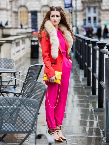 12 Stylish Color Blocking Outfit Styles