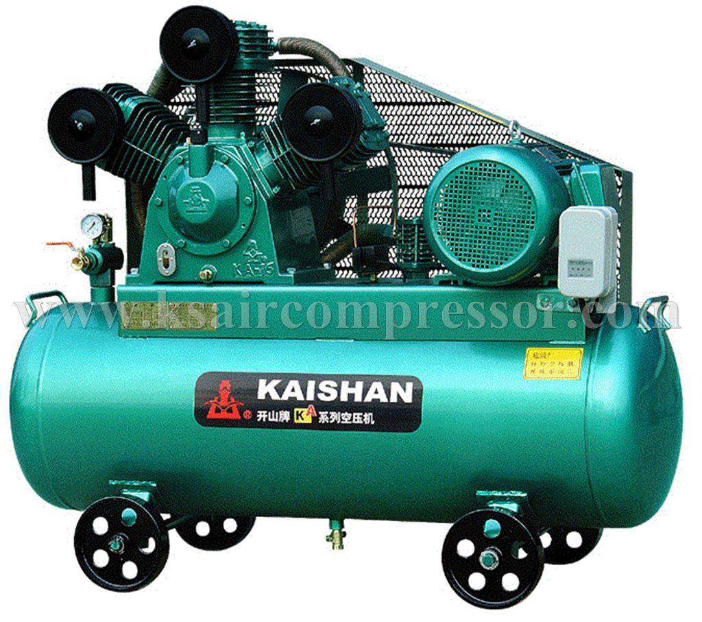Industrial Portable piston air compressor, electrical air