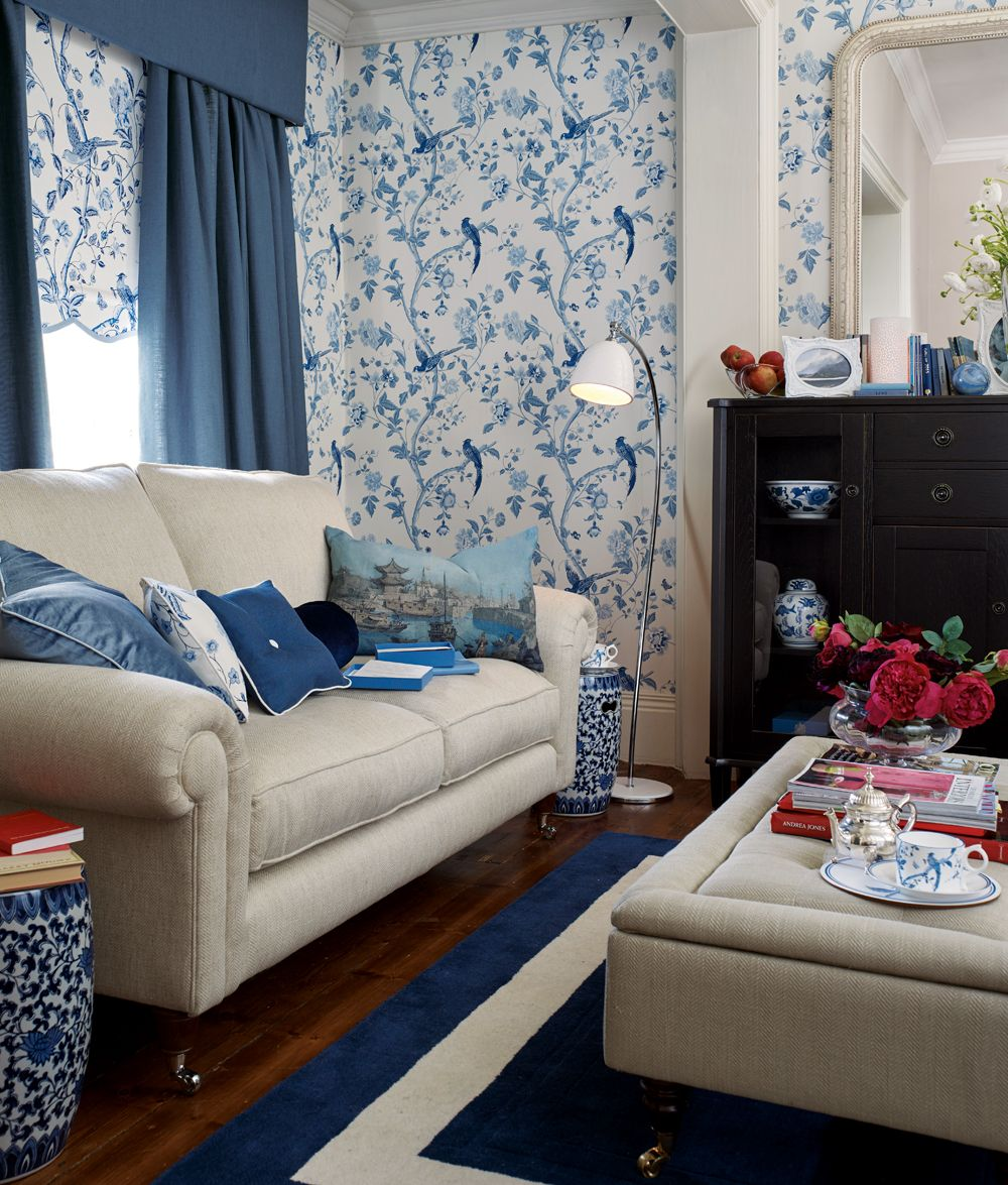 Diy Blue Interior Design: Laura Ashley AW15 #interiors #ChinaBlue