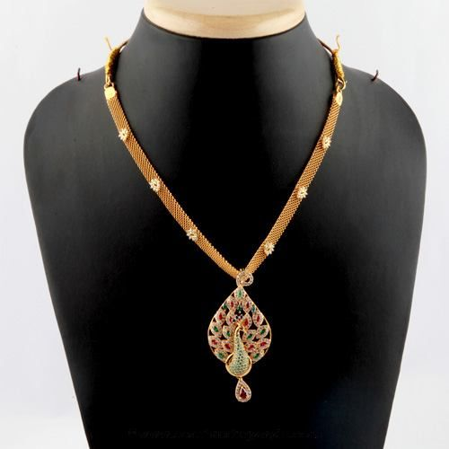 90733aa80 Gold Short Necklace Designs From Bhima Jewellery, Gold Short Necklace Models,  Bhima Jewellery Collections