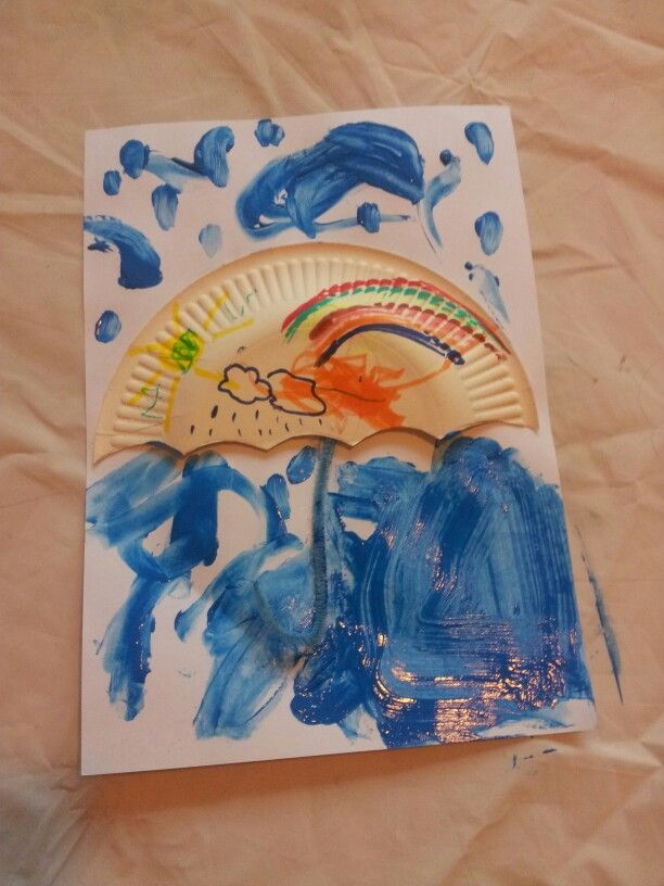 Rainy Day Craft My Playgroup Art Crafts Pinterest Rainy