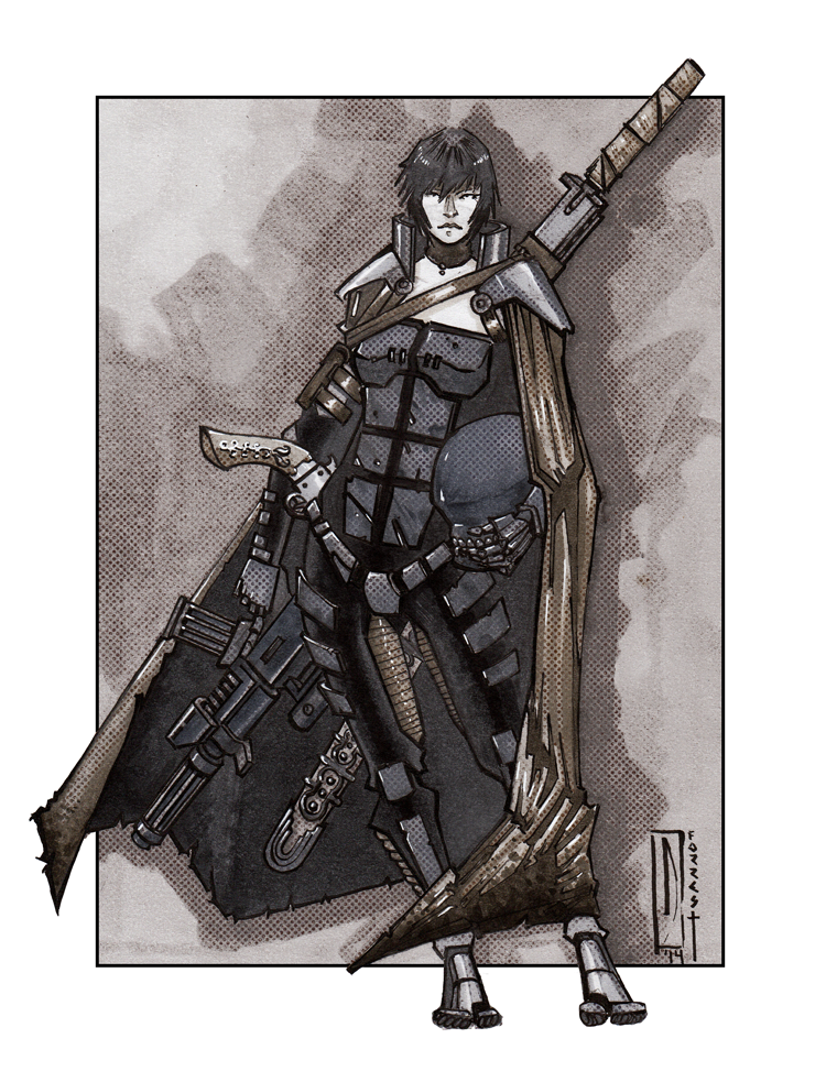 Dark Heresy Rpg Commission Assassin Dullahan By Dforrest On Deviantart Rpg Dark Eldar Warhammer