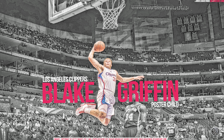 Blake Griffin The Poster Child HD Wallpaper by AngelMaker