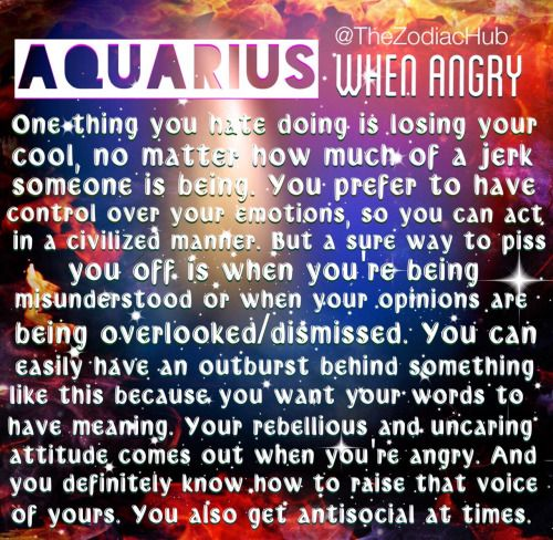 How To Deal With An Angry Aquarius Man