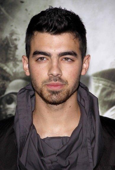Joe Jonas Short Spiked haircut for men