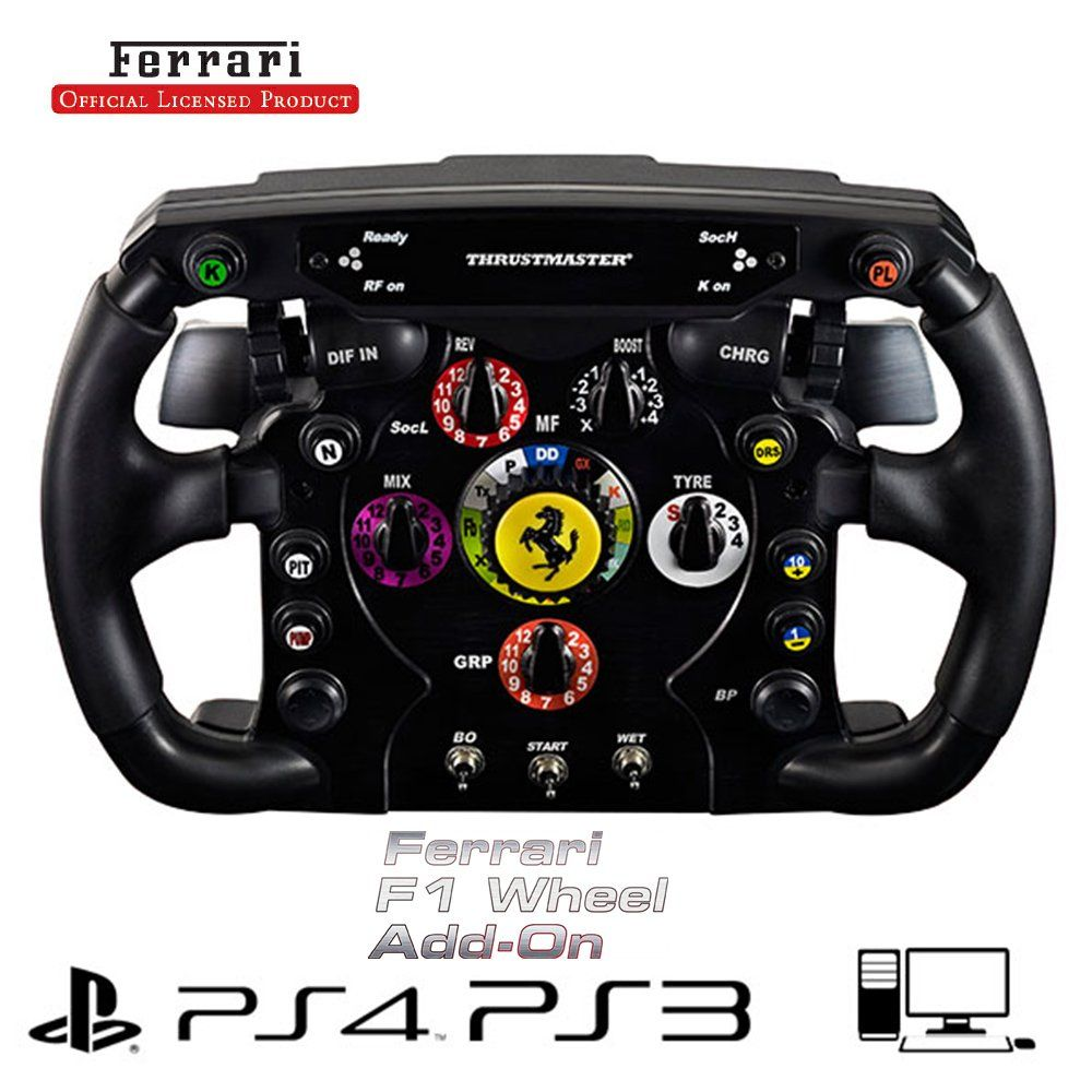 Thrustmaster Ferrari F1 Wheel AddOn for PS3/PS4/PC/Xbox One