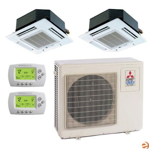 Mxz 2b20na 1 Slz Ka09na Th Slz Ka12na Th Dual Zone Ceiling Casset By Mitsubishi 3595 95 Mitsubishi Mxz 2b20na 1 Wall Ac Unit Heat Pump Air Conditioner