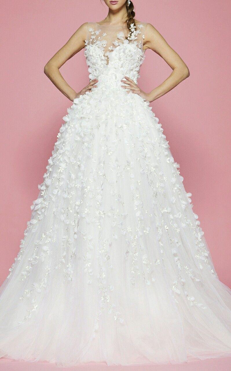 Georges hobeika spring bridal wedding gown u evening