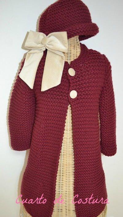 Patron abrigo niСЂС–РІВ±a crochet