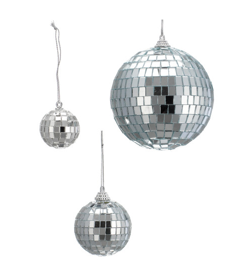Small Mirror Balls For Tree Decoration Mirror Ball Mirror Glass Bauble
