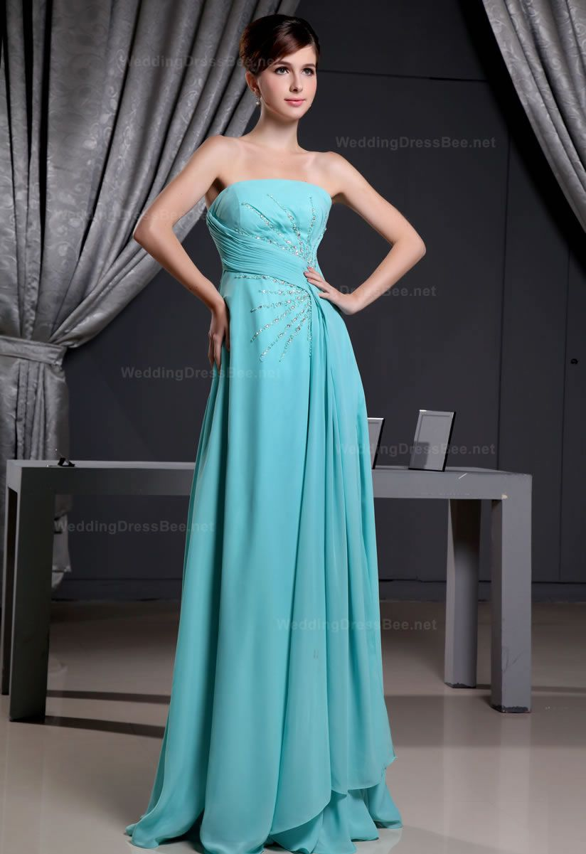 I love this everything pinterest chiffon dress beads and gowns