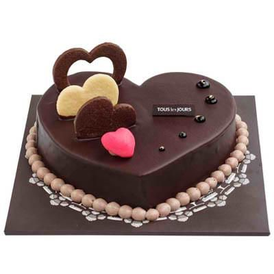 Chocolate Heart Cake Chocolate Heart Cakes Valentine Cake