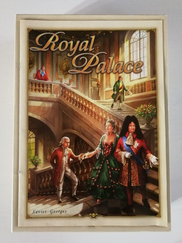 Royal palace two player board game Palais royal, Royal